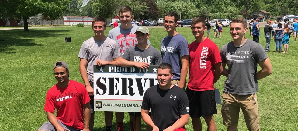 Army National Guard Recruits