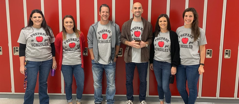 English Dept. participates in Twin Day