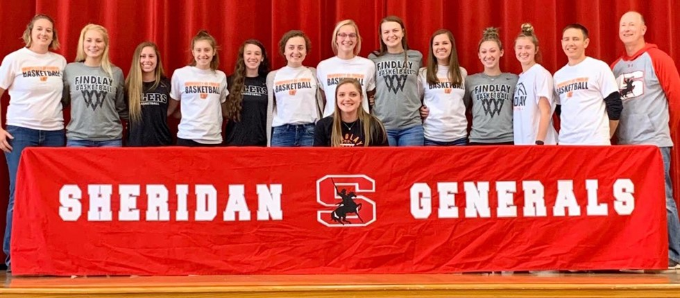 Kendyl Mick makes it official with the support of a few of her friends.